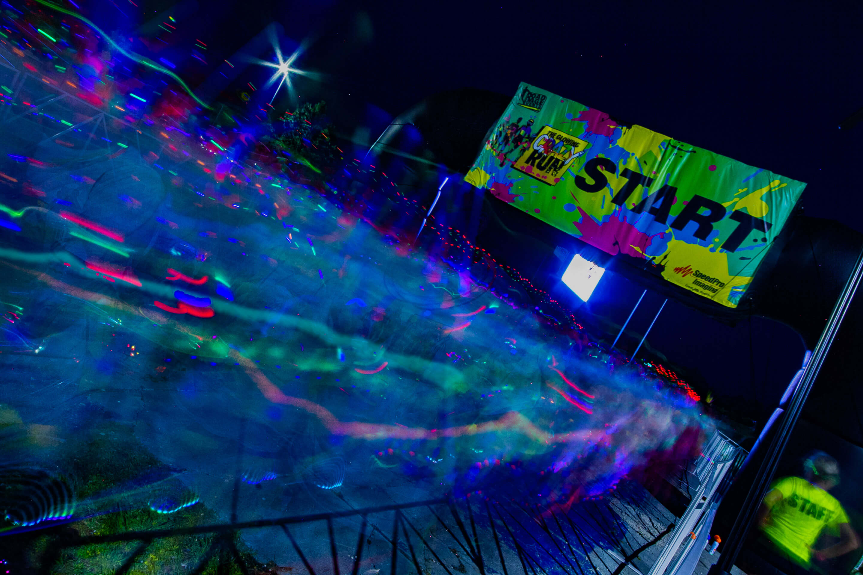 Crazy Glow Run Motionone Studios